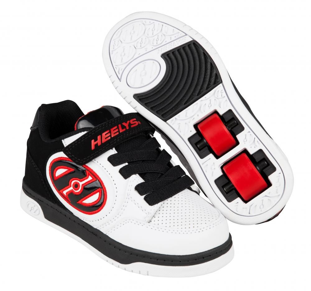 heelys x2 plus white black red. Black Bedroom Furniture Sets. Home Design Ideas