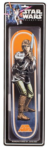 STAR WARS LUKE SKYWALKER  COLLECTIBLE DECK - 7.8IN X 31.7IN   - was £139.95 - now £79.95